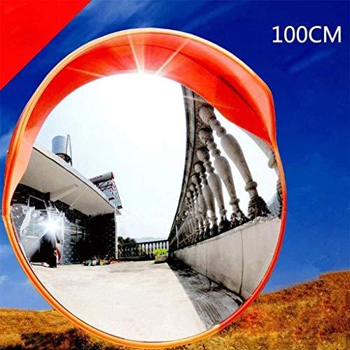 HQY Outdoor Verkeerslennen, Convex Spiegel, Buiten Rond 100 Cm Veiligheid Verkeer Oprit Concave Spiegel Road Garage Panoramische Spiegels Blinde Spot Spiegels