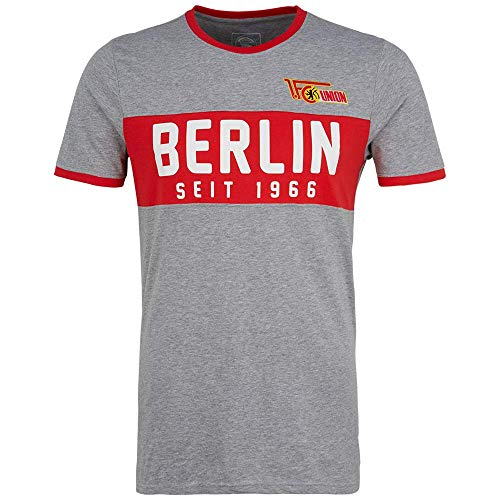 1. FC UNION Berlin T-Shirt Berlin 1966 Grau (XL)