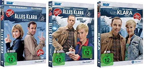 DVD-Alles Klara Staffel 1 (Sammeledition)