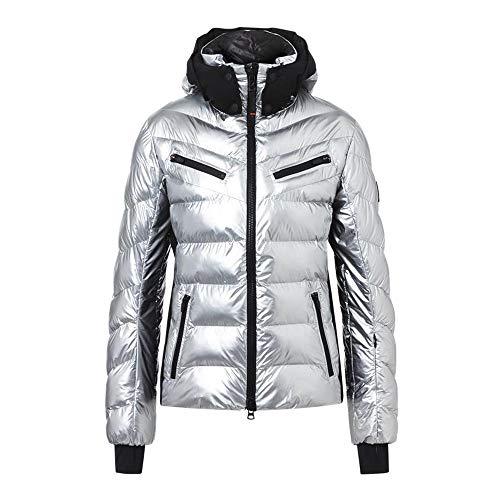 Bogner Fire + Ice Ladies Farina Grau, Damen Regenjacke, Größe 38 - Farbe Liquid Silver