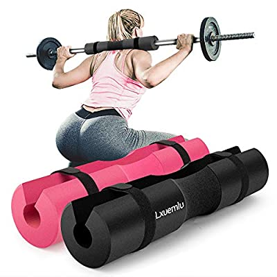 ?2019 Upgraded? Squat Pad Barbell Pad for Squats, Lunges, and Hip Thrusts - Foam Sponge Pad - Provides Relief to Neck and Shoulders While Training
