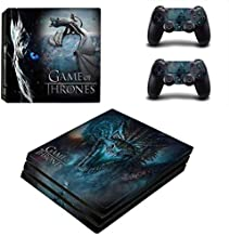 Skin Sticker - PS4 Pro Skin Sticker Cover for Sony Playstation 4 Pro Console&Controllers Skins -Game of Thrones for PS4 Slim Skin, PS4 Pro Skin, Ps4 Skin Sticker A201