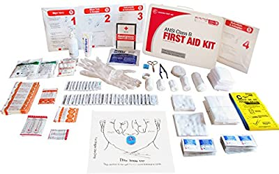 Genuine First Aid Class B 50 Person 2015 Easy Care Ansi First Aid Kit from Genuine First Aid