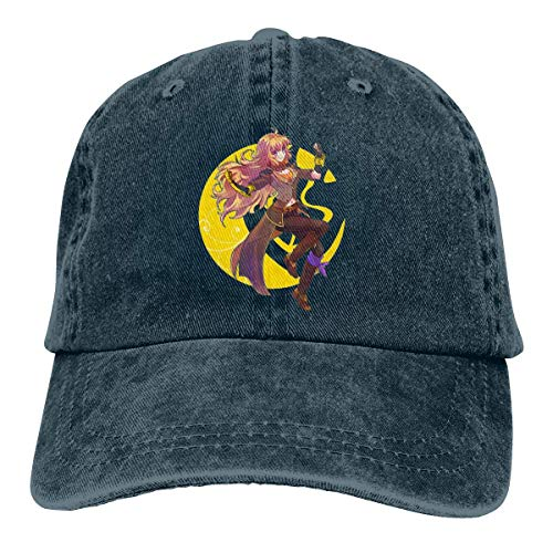 Baseball Caps 3D Anime RWBY Ruby Rose Verstellbare Fashion Washed Baseballmütze Cowboyhut
