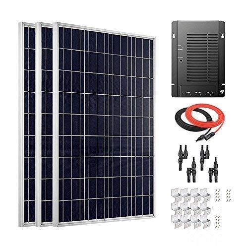 TOOGOO 6V 1.2W Panneau Solaire en Polycristallin Cellule Solaire Module Durdable Etanche Chargeur de lumiere durgence pour le Camping