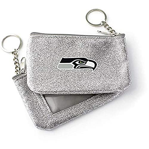 NFL Seattle Seahawks Color Sparkle Coin and ID Purse