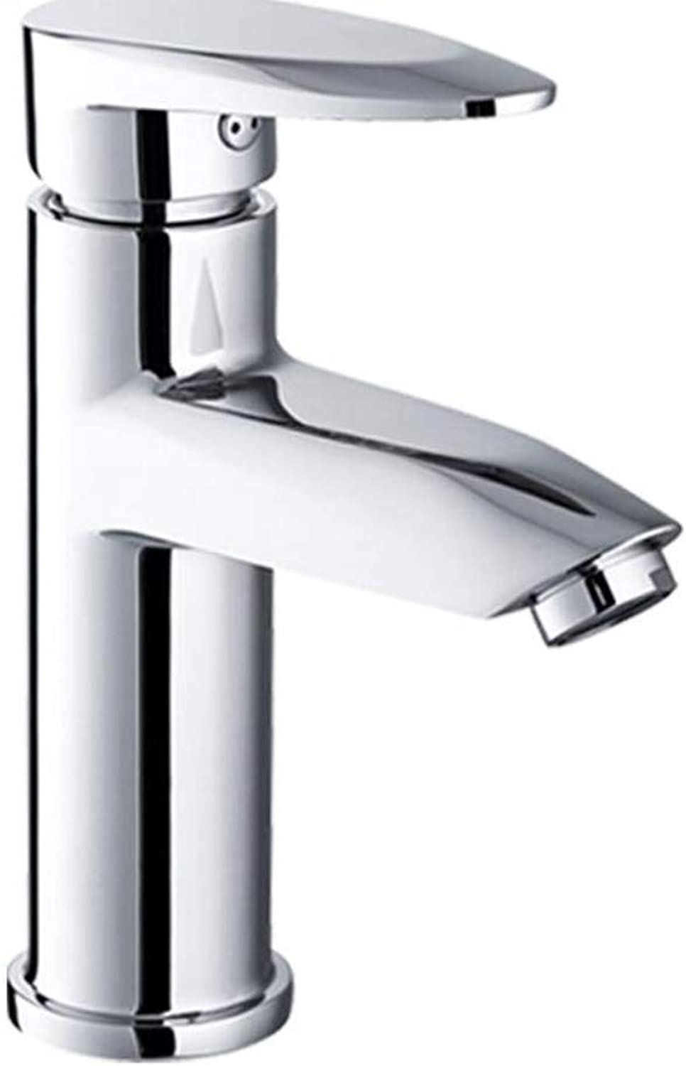 Bright Alloy Basin Faucet hot and Cold Water Faucet