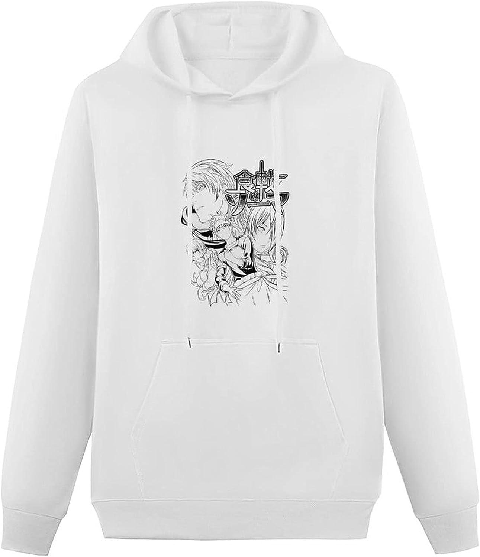 Hasekawa Shokugeki Teen Hooded Sweatshirt, Fashion Pullover Hoodie Sweater with Pockets for Boys Girls