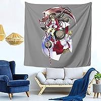 パンドラハーツ (4) ファッション多機能タペストリー家庭飾りタペストリー、軽くて、柔らかくて、丈夫で、洗いやすいです。寮の装飾、内室、ピクニック用の布、廊下の掛け物、テーブルクロス、ベッドカバーなど