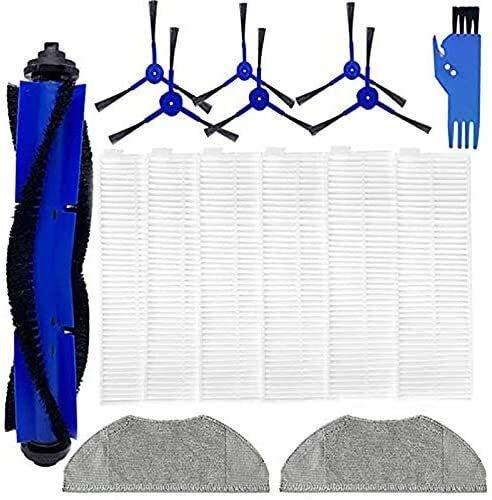 LHHNBY Piezas de repuesto para RoboVac L70 híbrido robótico Partes de aspirador Kit de accesorios, filtros Cepillos Mopping Pads