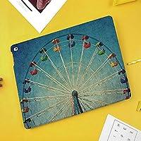 iPad Air 2019 ケース iPad Air3 10.5インチ ソフトカバー TPU 耐衝撃 傷防止 オートスリープ機能 軽量 薄型 二つ折りスタンド スマートカバー 2019年発売の10.5インチ iPad 対応巨大な垂直回転観覧車の活動アップアンティークエンターテイメントOld Days Picture