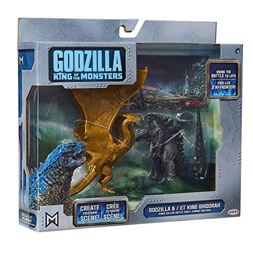 Godzilla King of The Monsters and ET King Ghidorah - Kings Collide Battle Pack