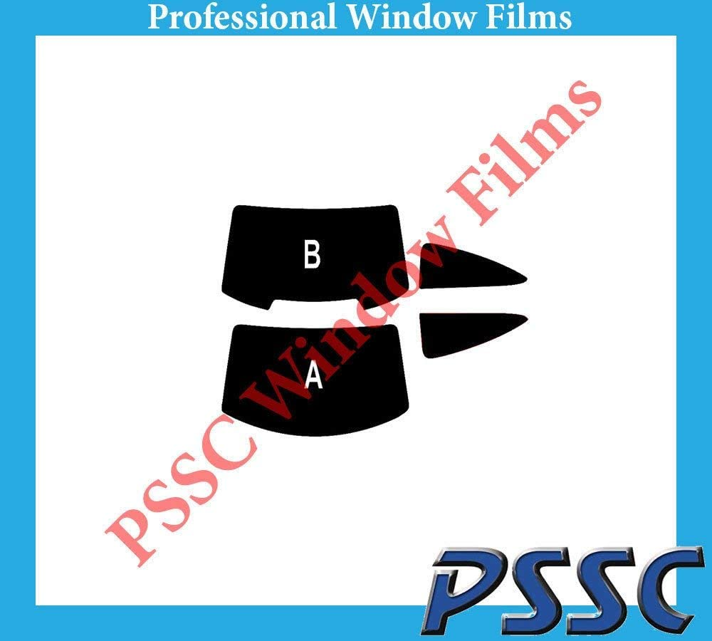 PSSC Pre Cut Rear Car Window Films for Mercedes C Class Coupe 2011 to 2016 05/% Very Dark Limo Tint