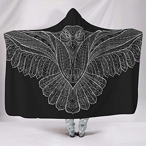 Uicoomhill Sudadera con capucha universal para mujer y adulto, color blanco, 150 x 200 cm