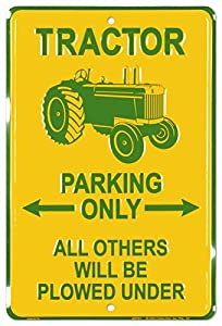 Tractor Tin Sign 8 x 12in