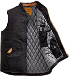 Venado Concealed Carry Vest for Men - Heavy Duty Canvas - Conceal Carry Pockets… (Small)