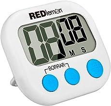 Redlemon Cronómetro de Cocina Digital con Temporizador de D