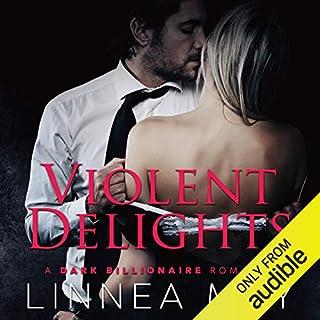 Violent Delights audiobook cover art