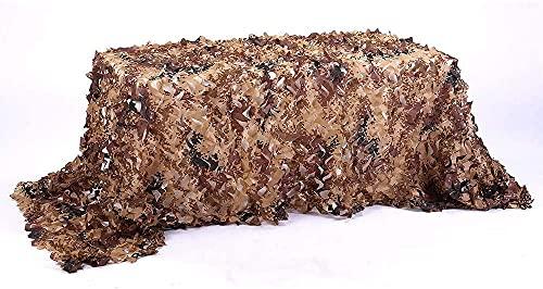 GPFFACAI Red CamuflajeRed Multiusos del Camuflaje del Desierto de la Red del Camuflaje de la sombrilla, Lona de la Piel Que acampa