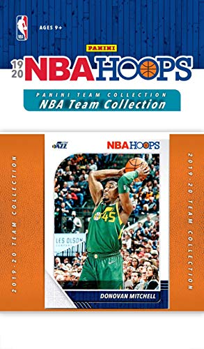 Utah Jazz 2019 2020 Hoops Basketball Factory Sealed 10 Card NBA Licensed Team Set with Donovan Mitchell, Mike Conley and Rudy Gobert Plus