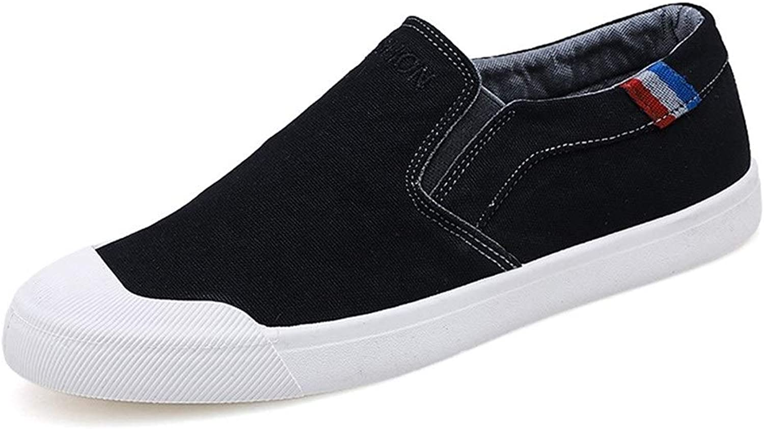 Ino Fashion Sneaker for Men Sports shoes Slip On Style Canvas Troll Toe Outside Leisure Trend