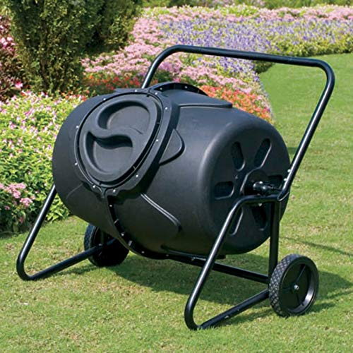 Great Deal! TWWT 50 Gallon Heavy Duty Tumbling Composter with Wheels