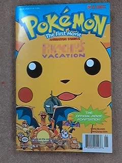 Pokemon The First Movie Pikachus Vacation (Animation Comics)