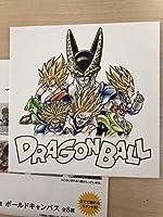 ドラゴンボール ボールドキャンバス セル 色紙ARTと同サイズ