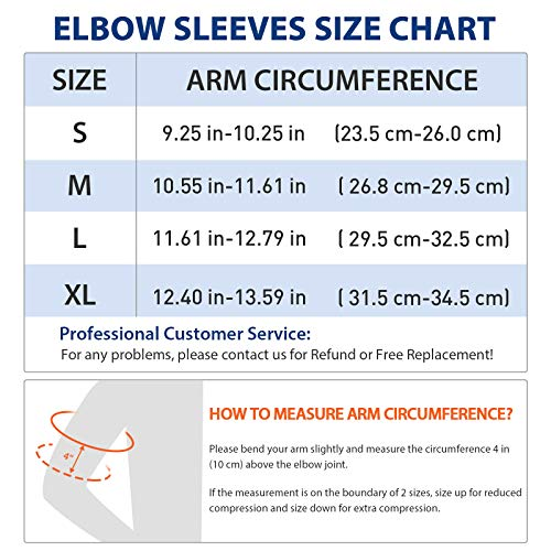 AVIDDA Elbow Support Sleeve for Men Women, 1 Pack Antislip Elbow Brace Compression Arm Supports for Tennis Elbow, Golfers Elbow, Arthritis, Weightlifting, Tendonitis, Joint Pain Relief Single Black