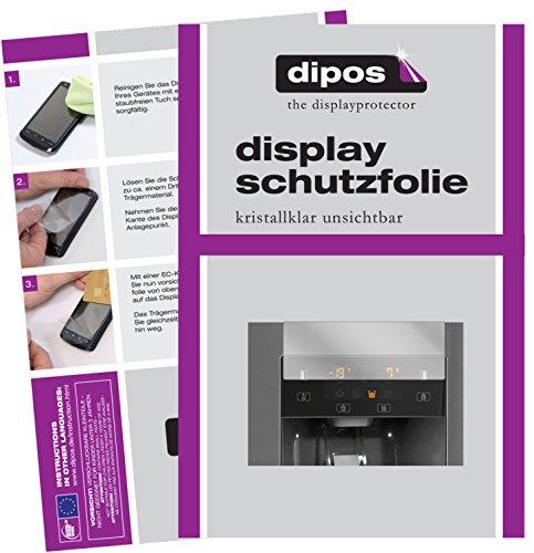 dipos I 2X Schutzfolie klar kompatibel mit Gorenje NRS9181CXB Folie Displayschutzfolie