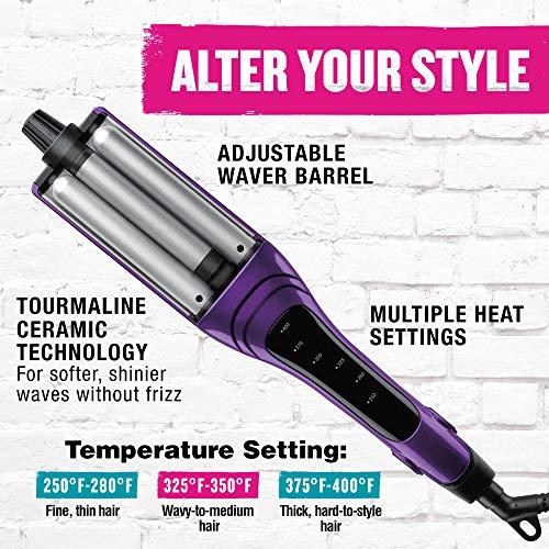 Bed Head A-Wave-We-Go Adjustable Hair Waver for Multiple Waves