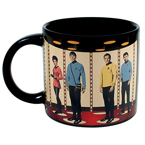 Tasse Star Trek Transporter mit Thermoeffekt, 350ml