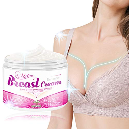 Breast Enhancement Cream, Breast Firming and Lifting Cream for Saggy Breast, Breast Enlargement Cream Bust Cream Enjoy Larger, Fuller, Firmer Beautiful Breast