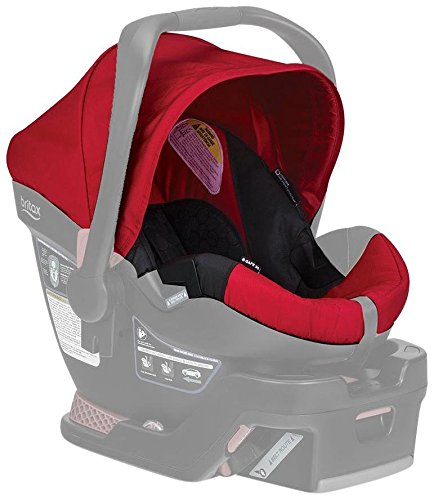 Find Discount Britax B-Safe 35 Infant Car Seat Cover Set, Red
