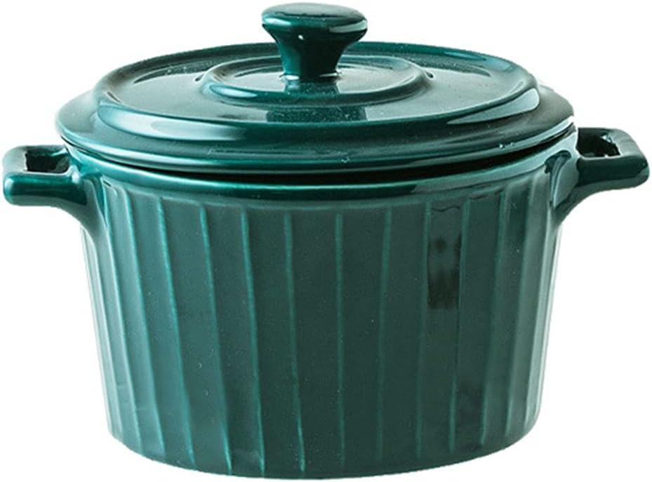 Sizikato Porcelain Condiment Pot with Handle Max 44% OFF and Lid 10oz Salt Detroit Mall