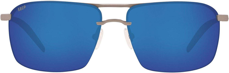 Costa Del Mar Men's Skimmer Rectangular Sunglasses