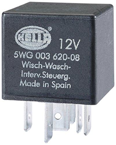HELLA 5WG 003 620-081 Relais, Wisch-Wasch-Intervall, 12V