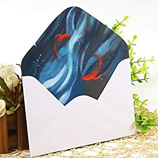 GYHS Chinese Retro Classical Hand-painted Collection Paper Envelope Enveloppe Wedding Envelopes For Invitations Decorative...