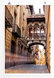 Eau Zone Home Bild - City – Gasse in Barcelona Spanien-