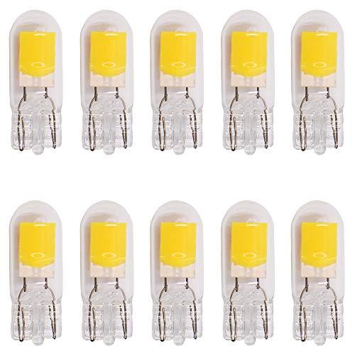 10-Stück T10 194 2825 501 Sehr Hell Warmes Weiß Birnen Ersatz für Innenraumbeleuchtung Birne