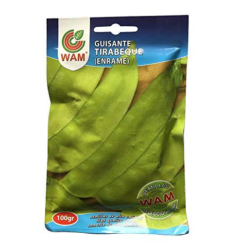 Semillas de GUISANTE TIRABEQUE CAROUBY WAM - Sobre 100 gr