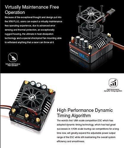 HW113300 - Hobbywing Xerun BL ESC XR8 Plus 150A SD 1/8 (2-6S)