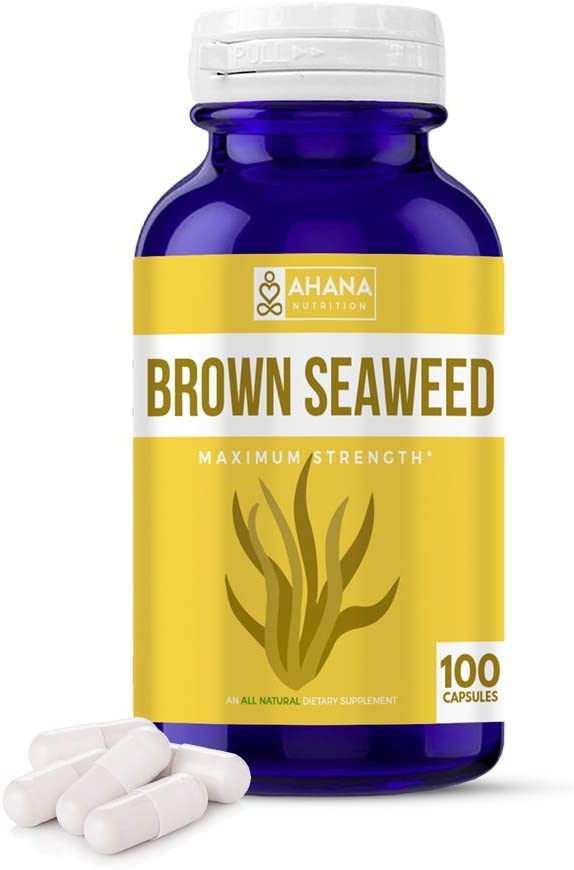 Ahana Nutrition Pure Brown Seaweed - online shop A Extract Capsules SALENEW very popular! Natural