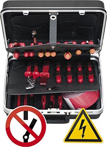 KS Tools 117.1845 Valigia di Utensili Isolati per Veicoli Ibridi ed Elettrici