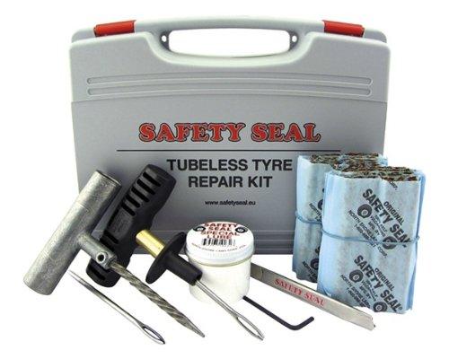 Services de réparation de pneus base safety seal set pour voiture, l'ultime réparation de pneus, certifié tÜV certifié