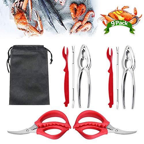 Lobster Shell Cracker Forks Crab nut claw opener Seafood kitchen Steel Cracker
