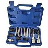 Juego de herramientas del alternador polea / Reparación / 13pc kit BOSCH