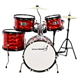 Rocket DKJ02RD 5 Piece Junior Drum Kit - Red