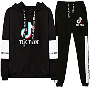 OHYOUNG TIK Tok Tracksuit Two Piece Unisex Hoodie and Pants C00605TZ01