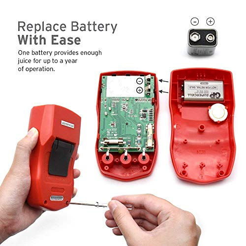 Etekcity Digital Multimeter, Amp Volt Ohm Voltage Tester Meter with Diode and Continuity Test, Dual Fused for Anti-Burn